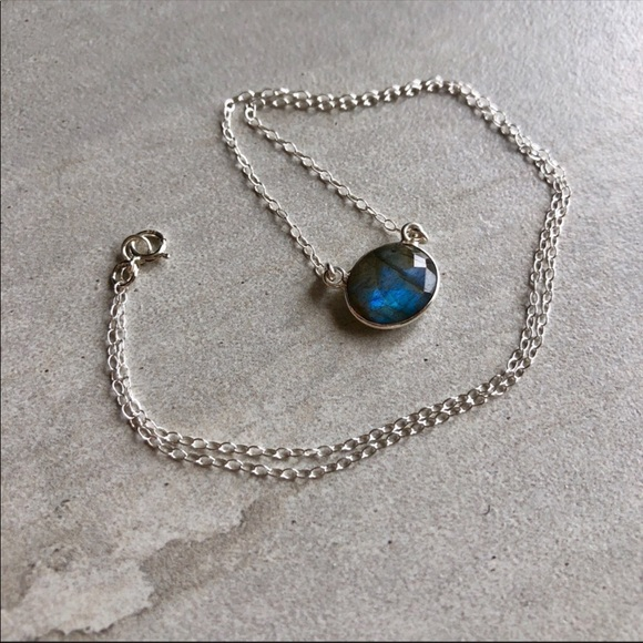 44f02068904e1f Estrella & Luna Jewelry   Listing Sterling Silver Nebula Labradorite ...